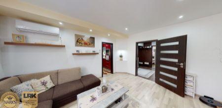 NA PREDAJ moderne zariadený 3-izbový byt po kompletnej rekonštrukcií v Dubnici nad Váhom - mestská časť Pod Hájom