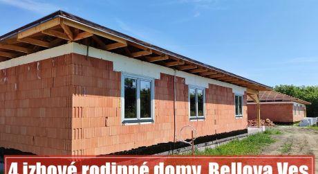 Nový 4 izbový dom za cenu 1 izbového bytu? V Bellovej Vsi len 30 minút od Bratislavy...