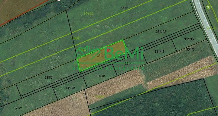 Pozemok pre RD-Predaj-Podhorany-33 000 €