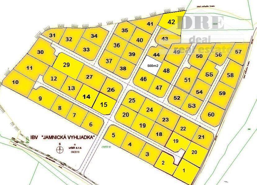 Pozemok pre RD-Predaj-Jamník-43 €