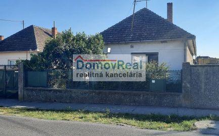 REZERVOVANÝ! Rodinný dom na predaj v obci Veľké Úľany