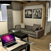 2 izbový byt, Bratislava-Podunajské Biskupice, 29 m², Novostavba