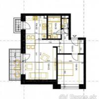 2 izbový byt, Pezinok, 61 m², Novostavba