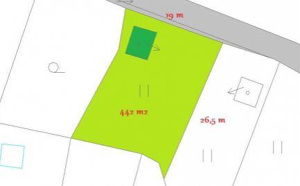 Záhradná chatka s pozemkom 442 m2, Banská Bystrica,  Fončorda – cena 32 000€