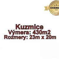 Pre rodinné domy, Kuzmice, 430 m²