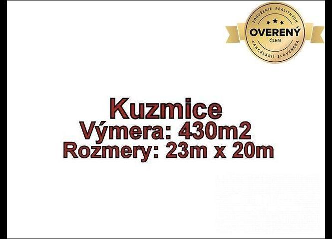 pre rodinné domy - Kuzmice - Fotografia 1