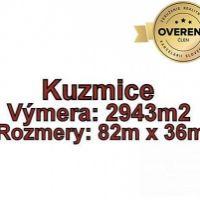 Pre rodinné domy, Kuzmice, 2943 m²