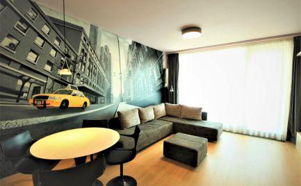 PANORAMA CITY - Štýlový 2iz byt s loggiou s krásnym výhľadom na Dunaj.