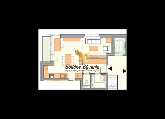 1 izbový byt - Liptovský Mikuláš - Fotografia 1