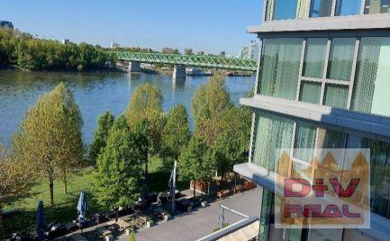 Na prenájom nový 3 izbový byt, balkón, garážové státie, 2 kúpeľne, novostavba EUROVEA