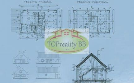 Novostavba!!! - dvojpodlažný nízkoenergetický  5  izbový murovaný dom s pozemkom 525 m2, 10 km od Banskej Bystrice – cena 328 000€