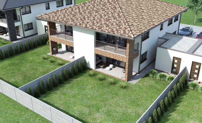 Moderné 3-izbové byty s terasou a parkovaním v Galante