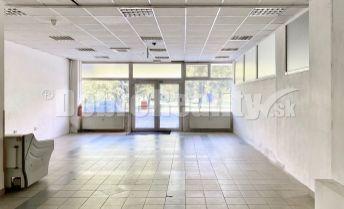 PRENÁJOM - Obchodný priestor (predajňa, kaderníctvo, kozmetika, fitness) rozloha 135 m2 Veľkonecpalská, Prievidza