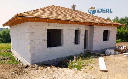 novostavba bungalovu s krásnym výhľadom, Fintice
