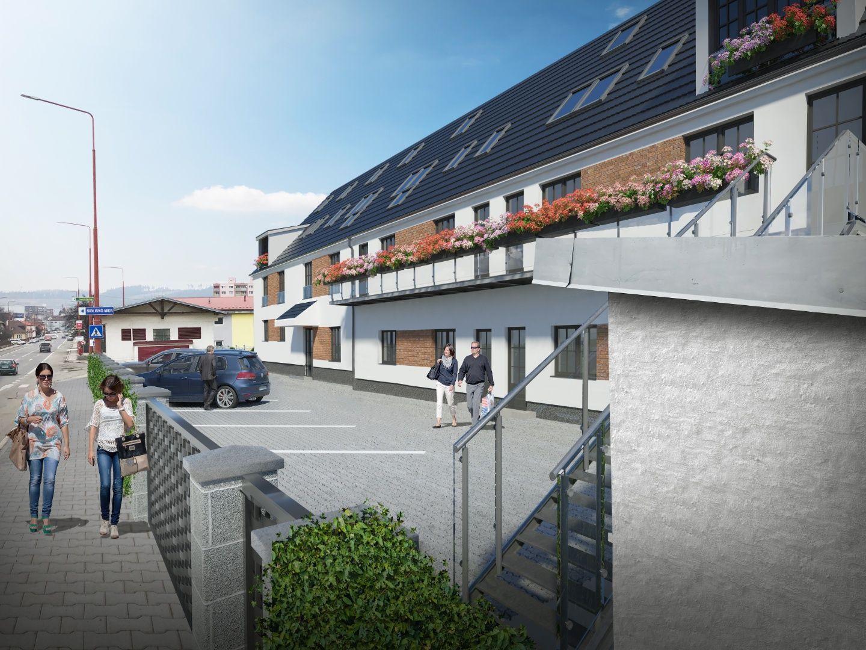 Na predaj komerčný priestor s 2 francúzskymi balkónmi, Spišská Nová Ves - 1