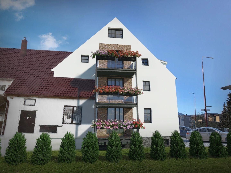 NA PREDAJ: 3-izbový mezonet s francúzskym balkónom, ulica Gorkého, Spišská Nová Ves - 1