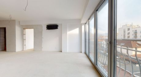 Nový 3 izb. apartmán č.53  /100.7 m2/ balkón 9 m2/ Piešťany