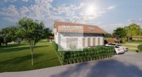 6 - izbový priestranný rodinný dom 144 m2, pozemok 331 m2 - Rajka
