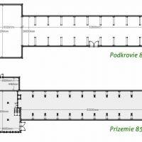 Skladovacie, Banská Bystrica, 1665 m², Pôvodný stav