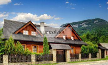 Nadštandardný rodinný rekreačný dom/chata na Liptove - Kvačianska dolina