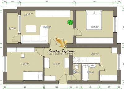 3 izbový byt na sídlisku Západ v Dunajskej Strede