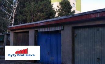 RK Byty Bratislava prenájme garáž na ul. Vyhnianska, BA III