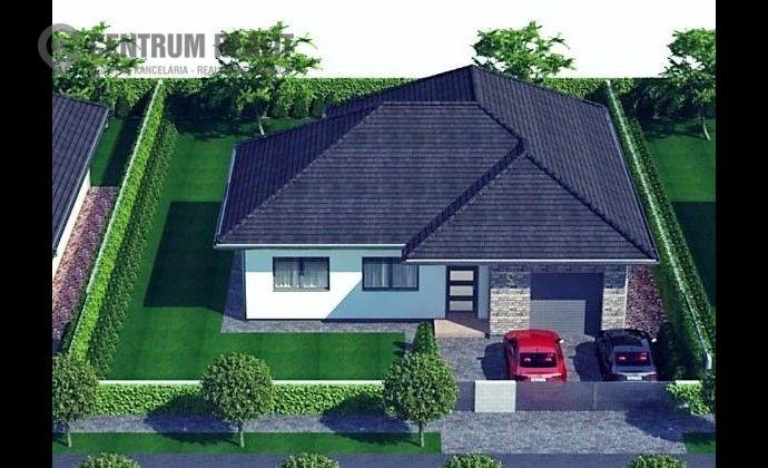 Moderný nový RD so vstavanou garážou, krásnym priestranným pozemkom v pokojnej lokalite