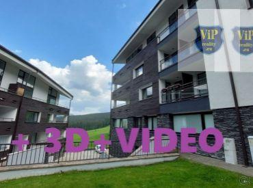Apartmán s terasou na juh, spolu 91m2, priamo na svahu, Banská Bystrica - Donovaly