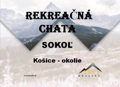 EXKLUZÍVNE! Rekreačná chata v obci Sokoľ, Košice - okolie, 578 m2.