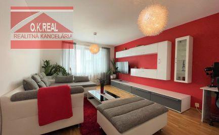 Ponúkame na predaj zariadený 3izbový byt na Sputnikovej ulici - v zelenej časti BA - Ružinova, s výbornou infraštruktúrou, dobrou dostupnosťou do centra a bezproblémovým parkovaním.