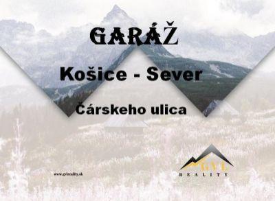 EXKLUZÍVNE! Garáž, Čárskeho, Košice - Sever.