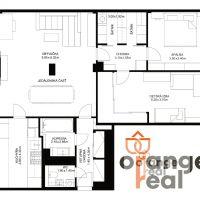 3 izbový byt, Košice-Staré Mesto, 105 m², Kompletná rekonštrukcia