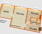2-izbový byt Handlová