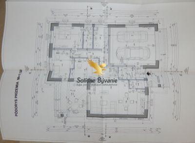 4-izbová novostavba s dvojgarážou