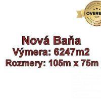 Rekreačný pozemok, Nová Baňa, 6247 m²