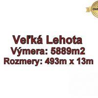 Pre rodinné domy, Veľká Lehota, 5889 m²