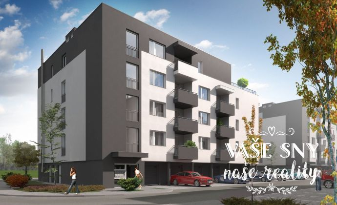 OS Hanzlíkovská, Bytový dom č.7, 2-izbový byt č. 8 v štandardnom prevedení za 112.500 €
