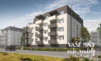 OS Hanzlíkovská, Bytový dom č.7, 2-izbový byt č. 17 v štandardnom prevedení za 98.200 €