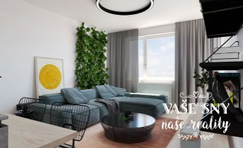 OS Hanzlíkovská, Bytový dom č.8, 2-izbový byt č. 10 v štandardnom prevedení za 113.400 €