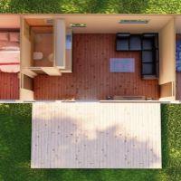 Chalupa, rekreačný domček, Komárno, 48 m², Vo výstavbe