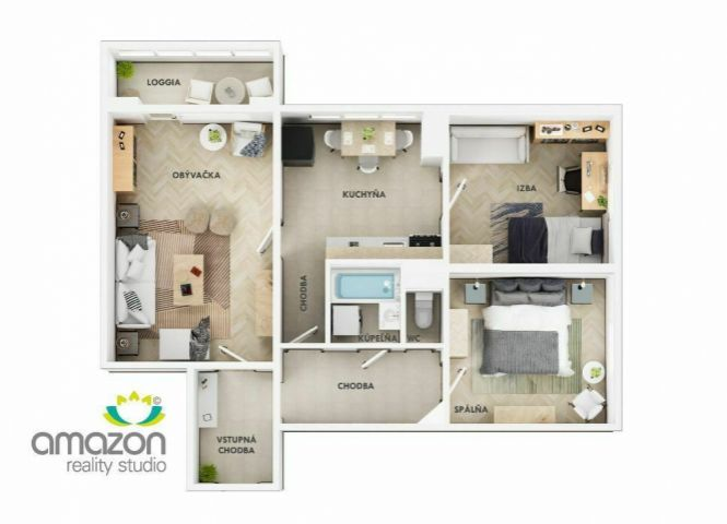 3 izbový byt - Košice-Staré Mesto - Fotografia 1
