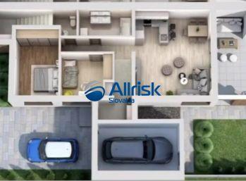Novostavba 3-izbového bytu s garážou, záhradkou, terasou a vlastným parkovacím miestom