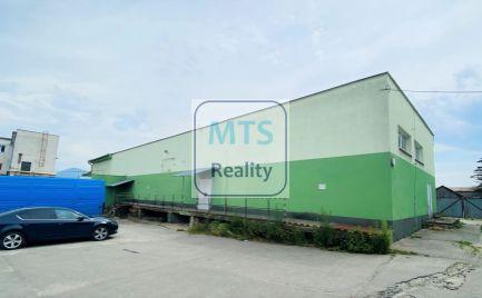 REZERVOVANÝ Podnikateľský priestor na predaj/prenájom 250 m2, Martin