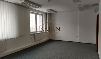 Ponúkame na prenájom klimatizovanú kanceláriu 31,6m2, Metodova ul., BA II., Ružinov.