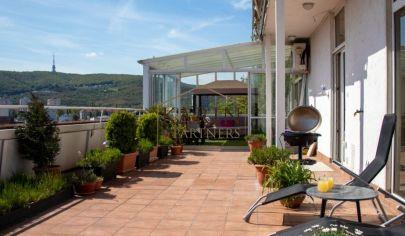 REZERVOVANÝ!!!    Nadštandartný 5 izb. mezonetový byt s krásnym výhľadom v Bratislave