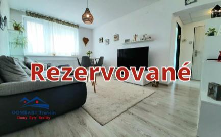 Exkluzívny predaj 2 izbového bytu v Trenčíne!!