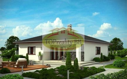 Stavebný pozemok  1 019 m2, 9 km od  Banskej Bystrice – cena 130 000€