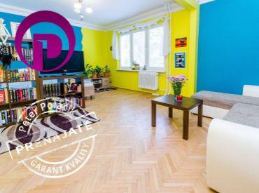 1.5i byt, 42m2 – BA-Ružinov: KOMPLETNE zariadený, PSÍK možný, TICHÁ lokalita, ZELEŇ, ELEKTRIČKA 8min