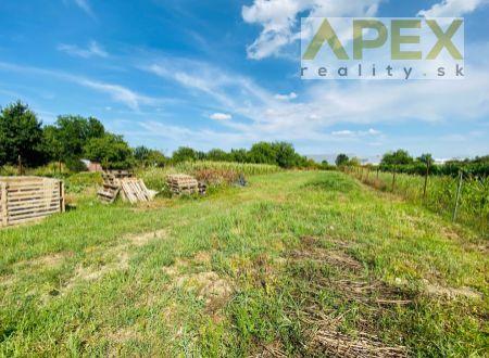Exkluzívne APEX reality stavebný pozemok s výmerou 1000 m2 v Šulekove - investičný pozemok
