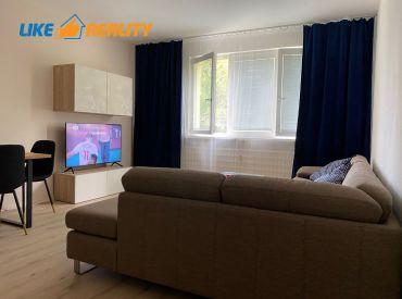 Exkluzívne na prenájom - zariadený 2 izbový byt na Partizánskej v Nitre